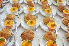 catering Av-plats mat royaltyfri bild