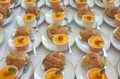catering Av-plats mat arkivfoto