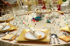 Catering, bankiet/ Zdjęcia Royalty Free