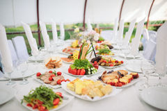 Catering and banquet Stock Photography