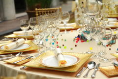 Catering / Banquet Royalty Free Stock Photography