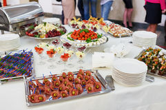 Catering and banquet Royalty Free Stock Photography