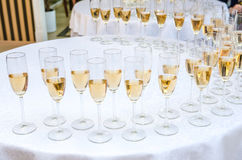 Catering bar for celebration. Beauty of interior for wedding day. Stock Photos