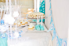 Catering for  birthday party Royalty Free Stock Images