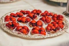 Catering buffet cake dessert. Wedding Royalty Free Stock Photo