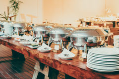 Catering buffet Stock Photo