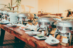 Catering buffet Royalty Free Stock Photo