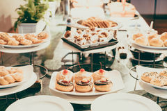 Catering buffet Royalty Free Stock Image