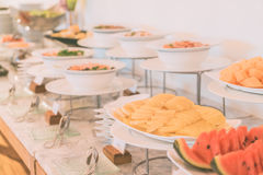 Catering buffet Royalty Free Stock Images