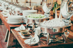Catering buffet Stock Images