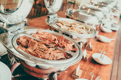 Catering buffet Royalty Free Stock Photography