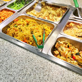 Catering buffet with vegetarian food Royalty Free Stock Image