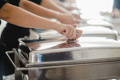 Catering buffet wedding event. Catering service buffet wedding event Royalty Free Stock Photos