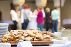 Catering at the business event. Stock Photos