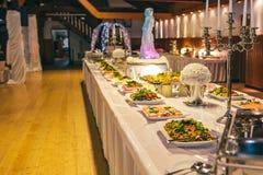 Catering cater buffet wedding Stock Photos