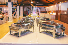 Catering cater buffet wedding. Bride stock image