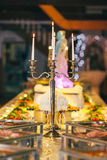 Catering cater buffet wedding. Bride stock photography