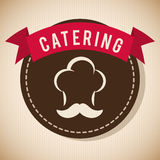 Catering and chefs hat design Stock Photo