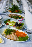 Catering - close-up of the festive table Stock Photography