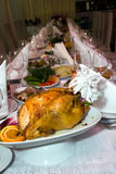 Catering - close-up of the festive table Royalty Free Stock Photos