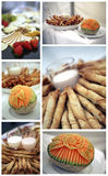 Catering collage Royalty Free Stock Photo