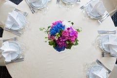 Catering decoration flower arrangement. Bouquet Royalty Free Stock Image
