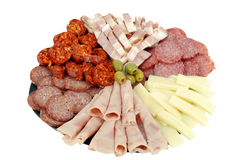 Catering delicatessen Stock Photos