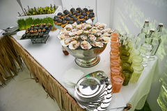 Catering Eating Companionship. Buffet Festive Concept banquet stock image