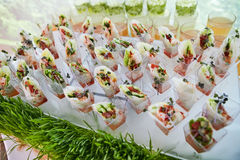 Catering Eating Companionship. Buffet Festive Concept banquet stock photo