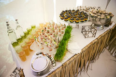 Catering Eating Companionship. Buffet Festive Concept banquet royalty free stock images