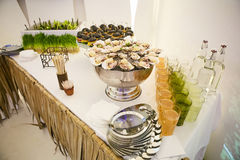 Catering Eating Companionship. Buffet Festive Concept banquet royalty free stock photos