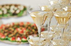 Catering event background Stock Photo