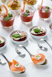 Catering finger food Royalty Free Stock Images