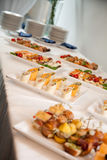 Catering fingerfood Royalty Free Stock Photo
