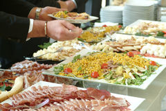 Catering food royalty free stock photos