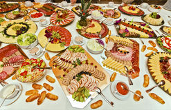 Catering food Stock Photos