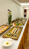 Catering food. Luxurious catering food for reception party stock photography