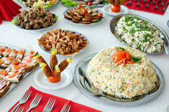 Catering food Royalty Free Stock Image