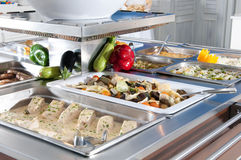 Catering food at a celebration. Catering food at a big celebration stock images