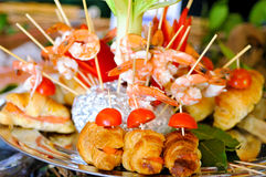 Catering food closeup Royalty Free Stock Image
