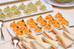 Catering food closeup Royalty Free Stock Photography