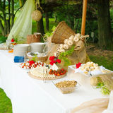 Catering food Royalty Free Stock Images