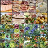 Catering food and fruits Stock Photography
