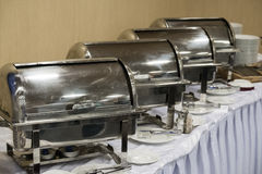 Catering food at a hall Stock Photography