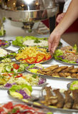 Catering food restaurant cuisine Royalty Free Stock Images