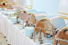 Catering food service Royalty Free Stock Photography