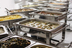 Catering food for wedding Royalty Free Stock Image