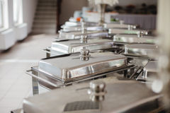 Catering food for wedding. Buffet royalty free stock images