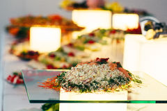 Catering food wedding buffet. Event Royalty Free Stock Photos
