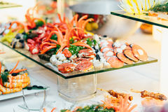 Catering food wedding buffet. Event Royalty Free Stock Photography
